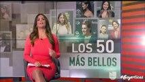 Angelique Boyer y Sebastian Rulli en la Alfombra de los #50MasBellos de People en Español