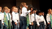 """Broadway Chorus performing """"Hard Knock Life"""" on April 15, 2016 in Livermore CA"""