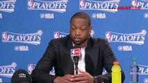 Dwyane Wade Postgame Interview   Heat vs Raptors   Game 5   May 11, 2016   2016 NBA Playoffs