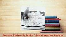 Download  Recetas básicas de Japón  Basic Japanese Recipes Download Online