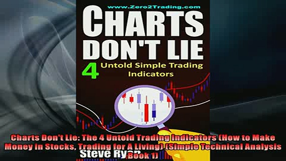READ book  Charts Dont Lie The 4 Untold Trading Indicators How to Make Money in Stocks Trading for READ ONLINE