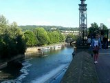 UK: Bath, Somerset (5/15) the River Avon 2012-08-20(Mon)1735hrs