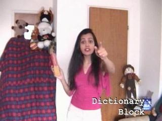 Talking Dictionary — Dictionary Block