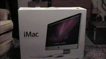 """imac 27"""" unboxing and apple 30"""" and apple led display"""