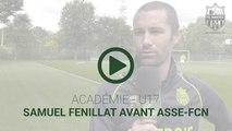 U17 : Samuel Fenillat avant ASSE-FCN