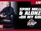 """Dj Spike Miller feat. Alonzo """"Oh My God"""" en live dans Planète Rap"""