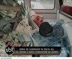 ACIDENTE MATA RAPAZ DE 25 ANOS/ REPORTAGEM EDUARDO OLIVEIRA