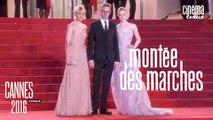 The Neon Demon (Nicolas Winding Refn) - Montée des Marches par Laurent Weil - Cannes 2016 - Canal+