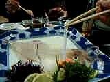 Squid sashimi, want some? Sashimi de Lula, aceita? PART 2/2