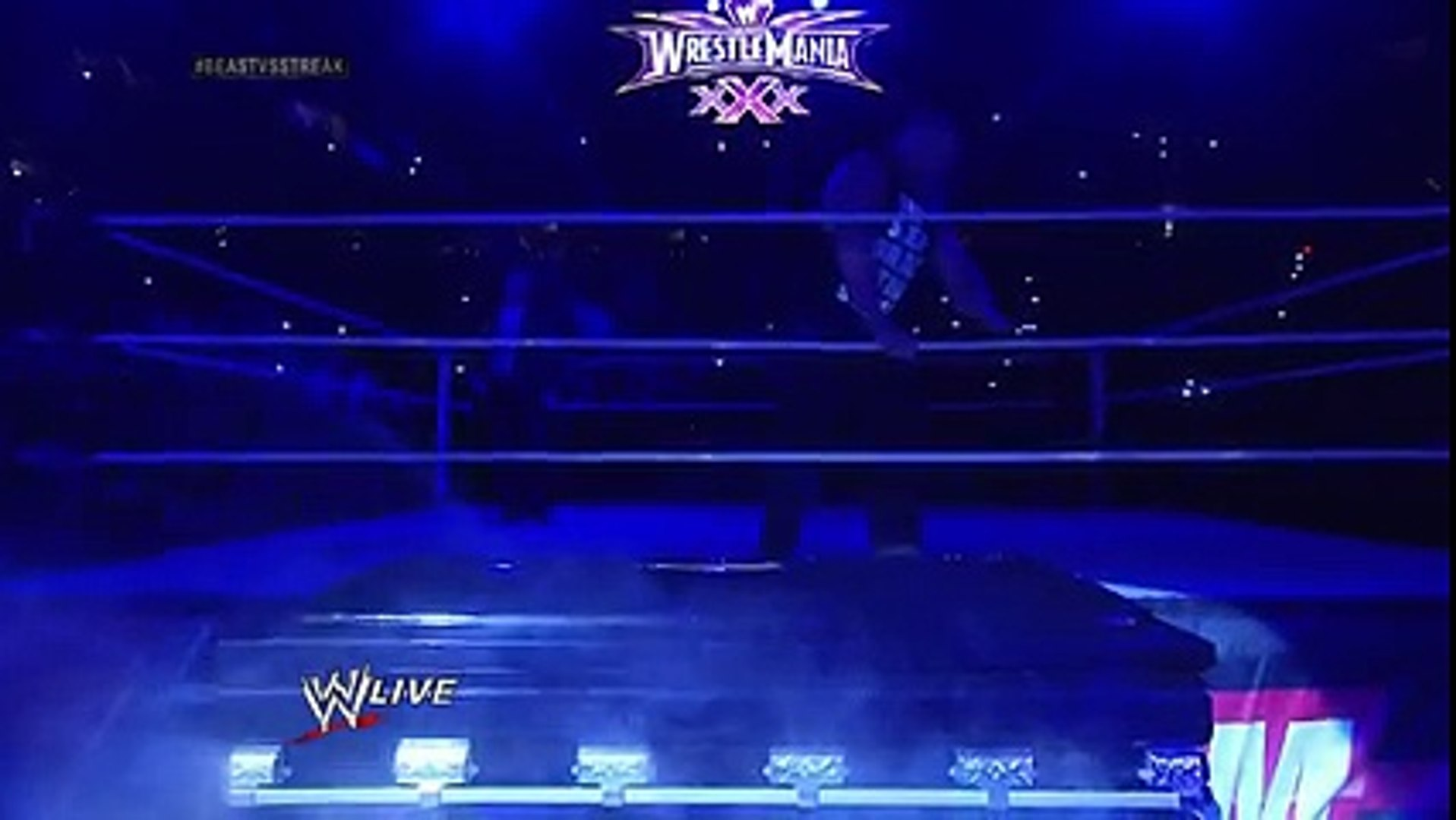 Undertaker rises from a coffin to attack Brock Lesnar- WWE RAW Match