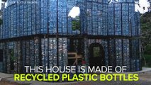 This Village Is Built Almost Entirely of Plastic Bottles