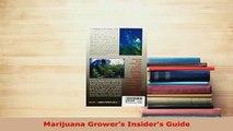 Download  Marijuana Growers Insiders Guide PDF Online