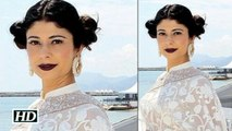 Spotted Pooja Batra at Cannes 2016 Watch Video