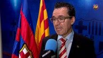 Josep Vives valora positivamente la resolución judicial que permite la exhibición de las esteladas