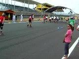 24 heures Roller Mans 2008 arrivée