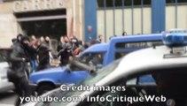 Vidéo CHOC: une voiture de police a été brûlée en plein Paris pendant une manifestation