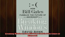 READ book  Breaking Windows How Bill Gates Fumbled the Future of Microsoft  BOOK ONLINE