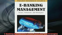 EBOOK ONLINE  EBanking Management Issues Solutions and Strategies READ ONLINE