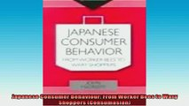 EBOOK ONLINE  Japanese Consumer Behaviour From Worker Bees to Wary Shoppers Consumasian  BOOK ONLINE