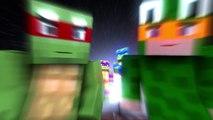 Little Kelly Minecraft | Minecraft Parody | TEENAGE MUTANT NINJA TURTLES