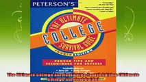new book  The Ultimate College Survival Guide Fourth Edition Ultimate College Survival Guide