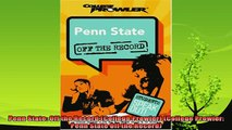 new book  Penn State Off the Record College Prowler College Prowler Penn State Off the Record