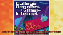 read here  College Degrees by Mail and Internet Bears Guide to College Degrees by Mail  Internet