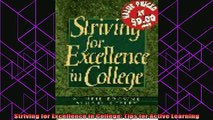 read here  Striving for Excellence in College Tips for Active Learning