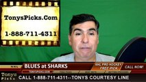 San Jose Sharks vs. St Louis Blues Free Pick Prediction NHL Playoffs Game 4 Odds Preview