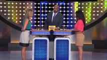 Shut Up White Lady! Steve Harvey Tells Off 'Black Zombie' Contestant Family Feud