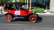 During the Nevada day parade In Las Vegas 10/31/2014 an old ford ron israel 2014