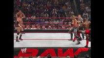 Triple H, Batista & Randy Orton vs. Edge, Shelton Benjamin & Tajiri (Raw 3 May 2004)