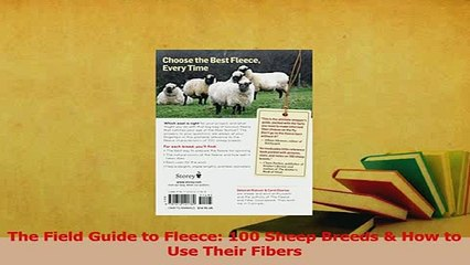 Read The Field Guide to Fleece 100 Sheep Breeds How to Use