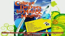new book  College Degrees by Mail and Modem 2000 College Degrees By Mail and Internet
