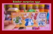 kinder surprise eggs egg peppa pig surprise play doh spiderman kinder surprise eggs playdo