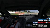 Round 3 pole position lap - Masters of Endurance 2014/15