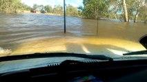 Land Cruiser Deep Water Crossing