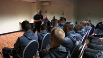 The incredible talk by Pascal Dupraz before Angers - Toulouse