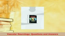 Download  Vascular Neurology Questions and Answers Free Books