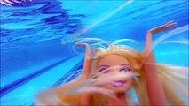 Pool water toys Swimming underwater diving Barbie Mermaid doll role