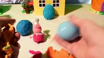 Peppa Pig et les oeufs surprises Play Doh | figurines jouets Peppa Pig et Paw Patrol