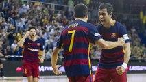 [HIGHLIGHTS] FUTSAL (LNFS): FC Barcelona Lassa-Catgas Santa Coloma (6-1)