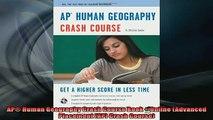 FREE PDF  AP Human Geography Crash Course Book  Online Advanced Placement AP Crash Course  FREE BOOOK ONLINE