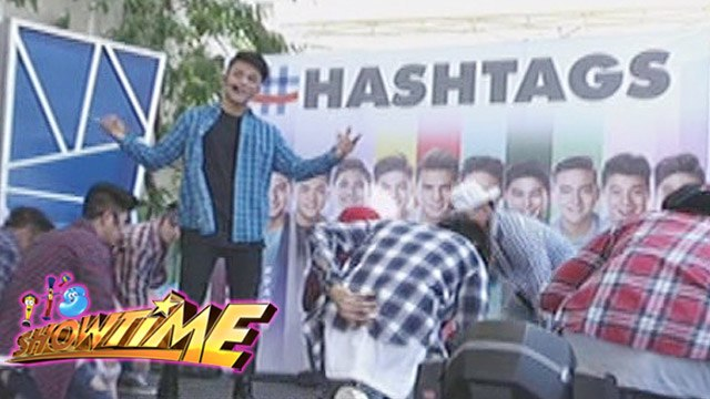 "It's Showtime: Hashtags performs ""Roadtrip"""