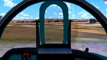 Mig 27 Flogger Takeoff from Road [FS2004]