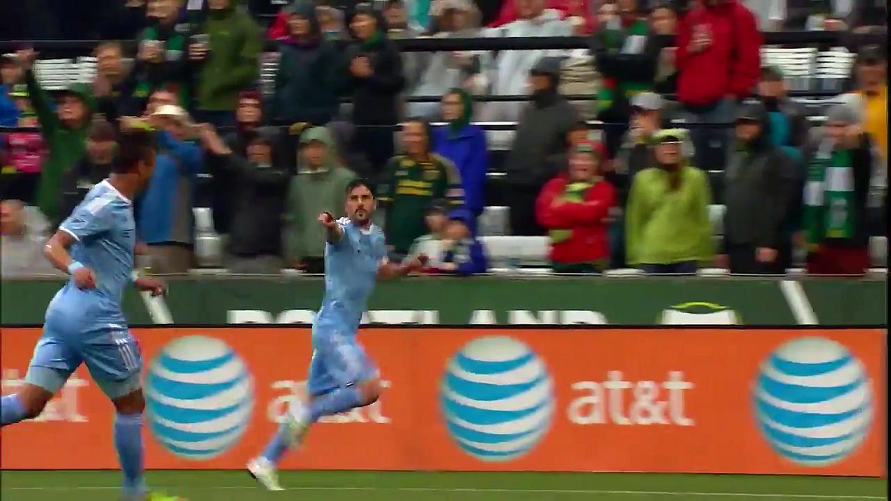 Portland Timbers vs. New York City FC 2016 MLS Highlights