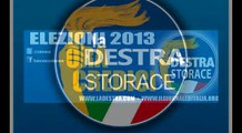 ELEZIONI POLITICHE DEL 24 E 25 FEBBRAIO 2013 VOTA LA DESTRA