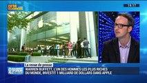 L'actualité IT: Warren Buffett, l'un des hommes les plus riches du monde, investit 1 milliard de dollars dans Apple - 21/05