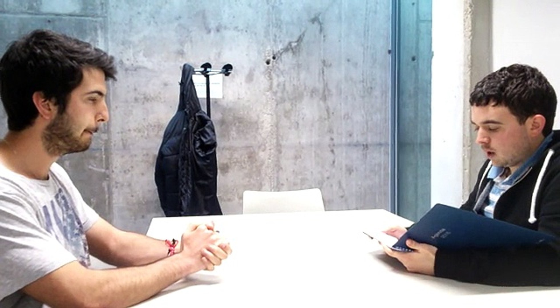 Job interview   Interviewed