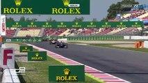 GP2 2016. Race 2 Barcelona. Antonio Giovinazzi Huge Crash (Replays)